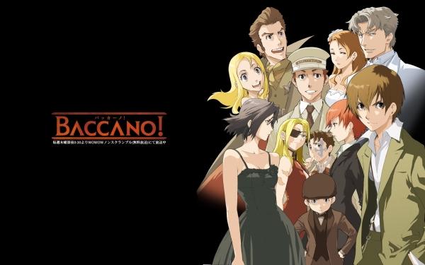 Baccano! | Reseña Anime – Entre sábanas y almohadas