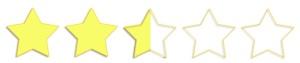 2.5 estrellas