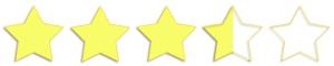 3.5 estrellas